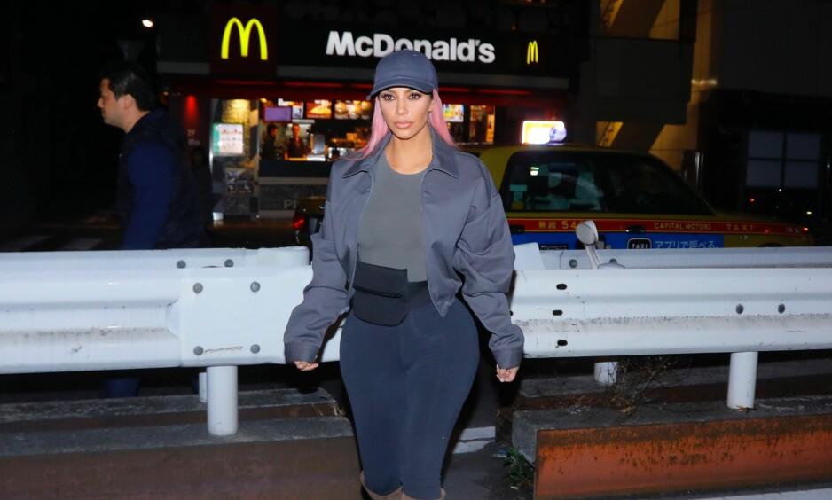TREBARNSMOR: Kim Kardashian ble tidligere i år mamma for tredje gang. Det var langt fra tilfeldig at hennes tredje barn ble en jente, kan hun nå fortelle. Foto: NTB scanpix