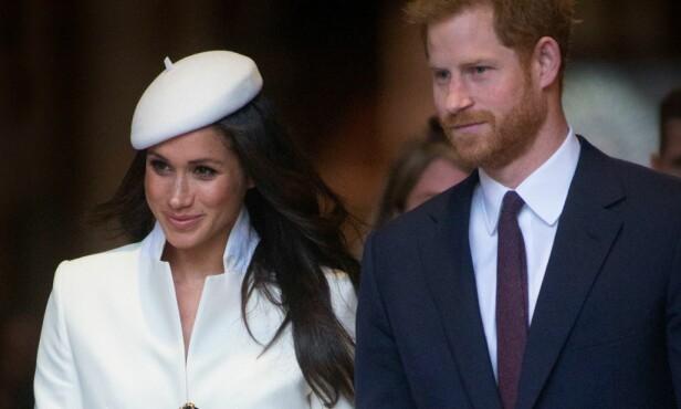SNART EKTEPAR: Meghan og prins Harry gifter seg 19. mai. Foto: REX / Shutterstock
