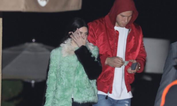 ROMANSERYKTER: Det har lenge blitt spekulert på om Kendall dater basketballspilleren Blake Griffin. Foto: Splash News