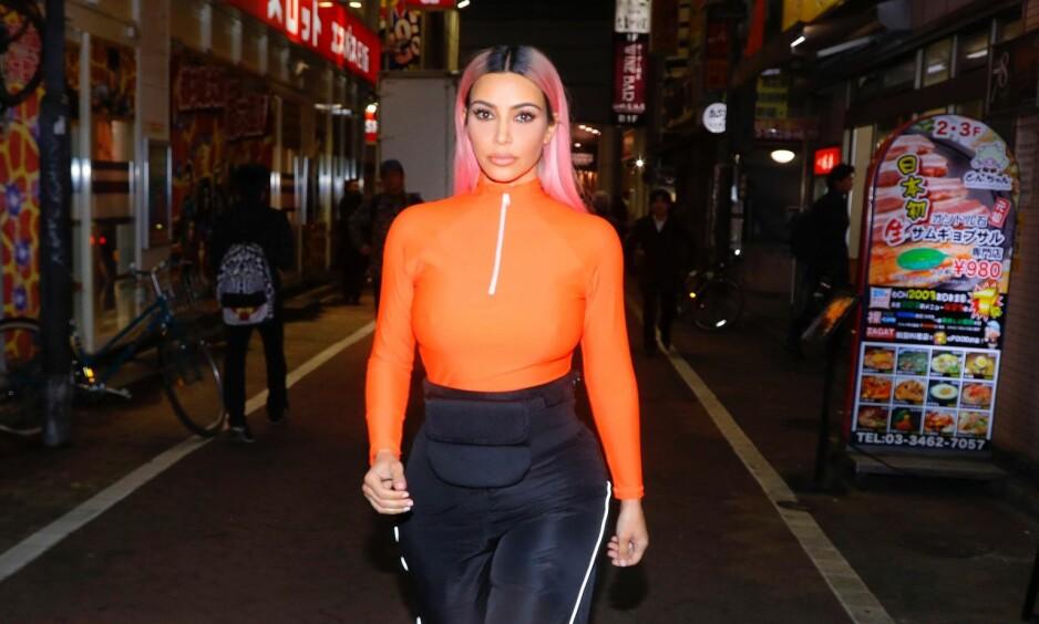 MÅ SMINKES: Kim Kardashian avslører at hun vil bli sminket og stylet, selv om hun en dag skulle bli alvorlig syk. Foto: NTB Scanpix