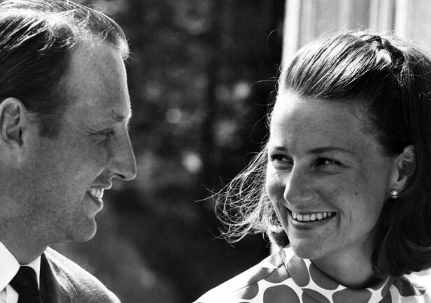 UNGE: Harald og Sonja avbildet på 60-tallet. Foto: NTB Scanpix