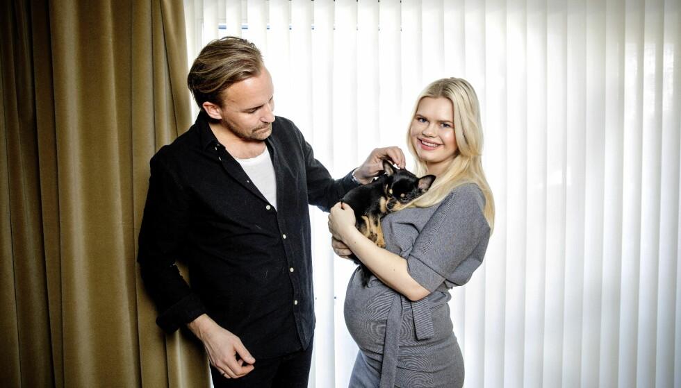 VENTER BARN: Ekteparet Julianne Nygård og Ulrik Nygård er med i årets «Bloggerne»-sesong. Foto: Nina Hansen / DAGBLADET