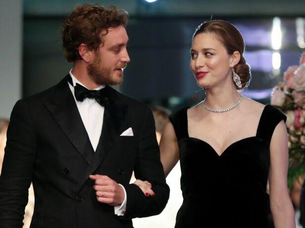 DYPT: Paret klarte ikke å ta øynene fra hverandre under arrangementet, og virket veldig forelskede. Foto: NTB scanpix