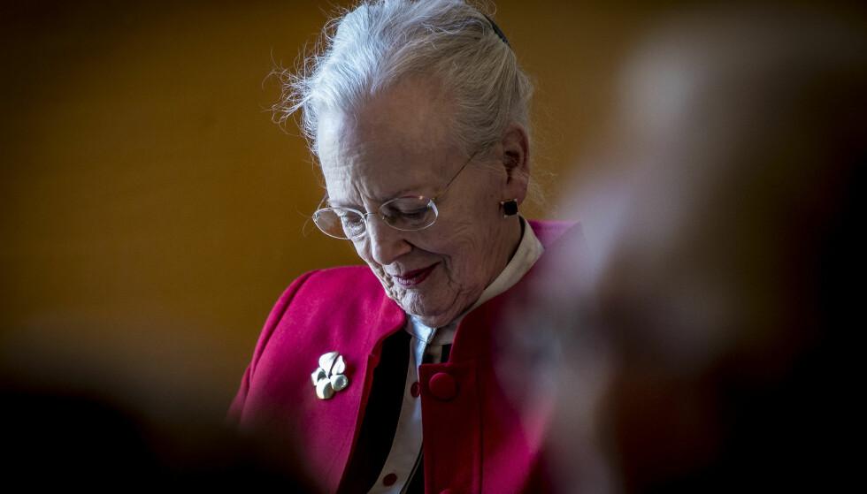 <strong>ET TOMROM:</strong> Dronning Margrethe mistet ektemannen gjennom 51 år i februar. Med prins Henrik borte, har livet endret seg på flere punkter for 77-åringen. Foto: NTB Scanpix