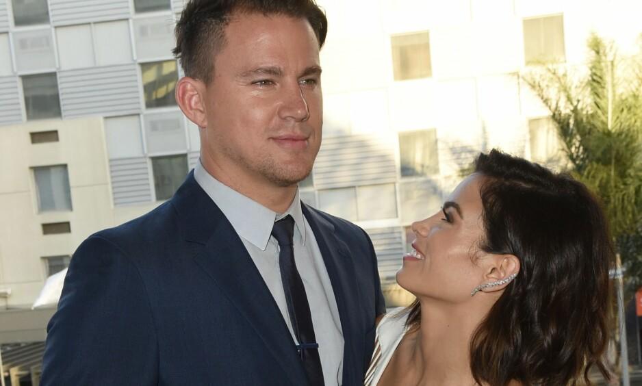 <strong>SKILLES:</strong> Channing Tatum og Jenna Dewan går fra hverandre etter ni år som ektepar. Foto: Angela Weiss / Getty Images