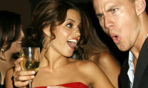 <strong>FORELSKET PÅ SETT:</strong> Channing og Jenna møttes under innspillingen av dansefimen «Step Up» i 2006. Her er de avbildet på premierefesten samme år. Foto: REUTERS / Fred Prouser