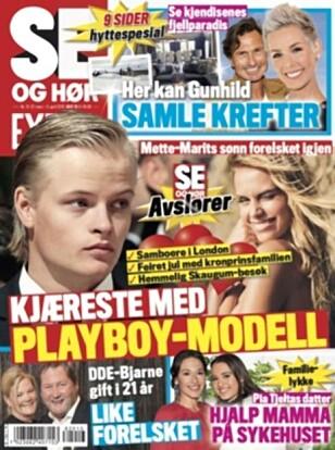 HER ER SAKEN: Det var i påsken Se og Hør kunne avsløre at Marius Borg Høiby har fått ny kjæreste.