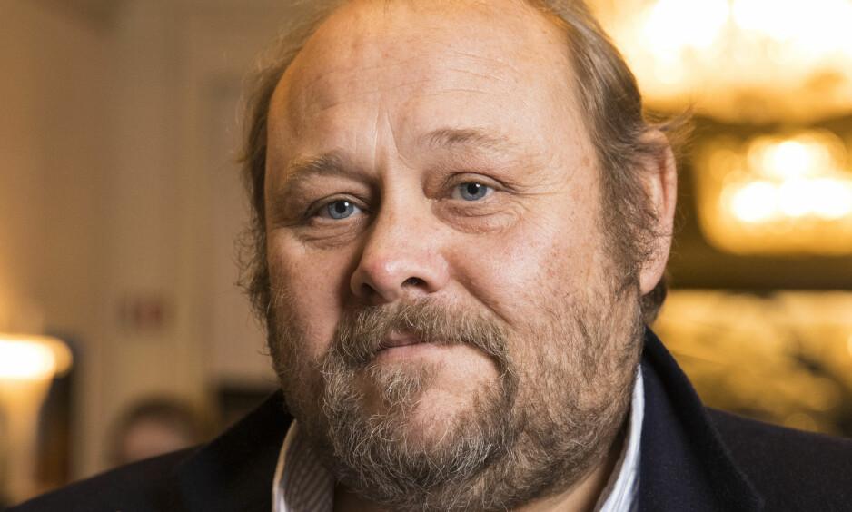 FORKLARER: Sjefsredaktør i Se og Hør, Ulf André Andersen, forklarer hvorfor ukebladet valgte å trykke saken om Marius Borg Høiby og hans nye kjæreste. Foto: Se og Hør