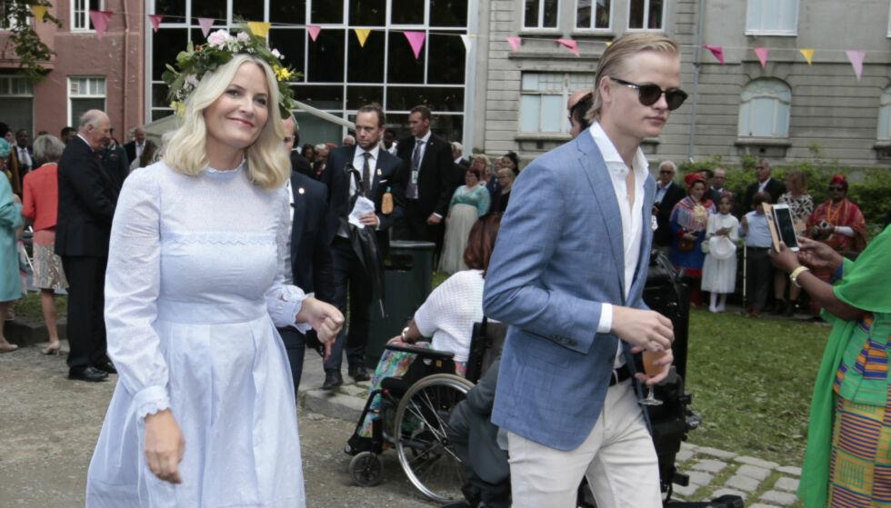 REAGERER: Kronprinsesse Mette-Marit og kongehuset mener at Se og Hørs oppslag i påsken er et overtramp av privatlivets fred. Foto: NTB scanpix