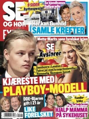 HER ER SAKEN: Det var i påsken Se og Hør kunne avsløre at Marius Borg Høiby har fått seg ny kjæreste.