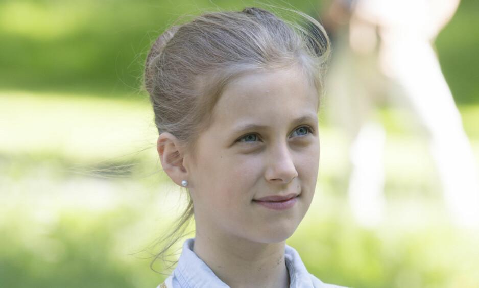 TENÅRING: I dag fyller datteren til Märtha Louise og Ari Behn, Leah Isadora Behn, 13 år. Foto: NTB Scanpix.