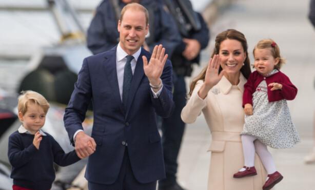 <strong>FIRE BLIR TIL FEM:</strong> Det er bare snakk om tid før prins George og prinsesse Charlotte får en søster eller bror. Når det gjelder arverekken, har kjønn ingen ting å si. Foto: NTB Scanpix