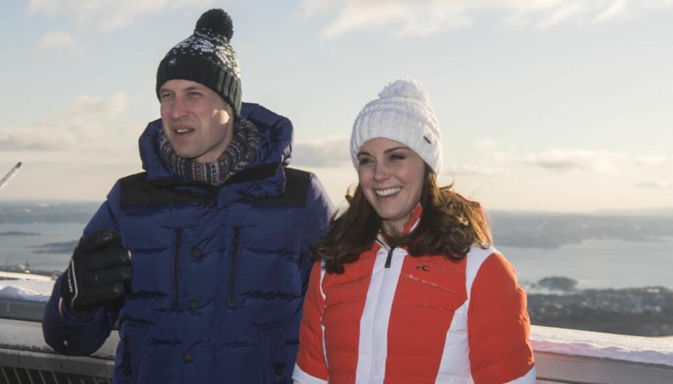 <strong>NORGESVENNER:</strong> Prins William og hertuginne Kate fikk se Oslo fra sin beste side da de besøkte Norge i februar. Foto: NTB Scanpix