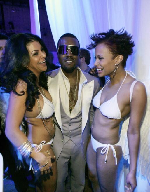 LANG KARRIERE: i 2006 var Kanye West vertskap for G.O.O.D Music-festen etter Grammy Awards i Los Angeles. Foto: Reuters/ NTB scanpix
