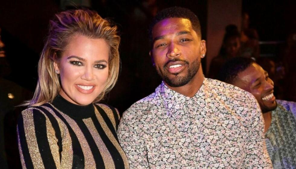 HJEM: Khloé Kardashian og Tristan Thompson skal ha gitt forholdet en ny sjanse, og nå er de visstnok på boligjakt. Foto: NTB Scanpix