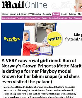 Faksimile: Daily Mail