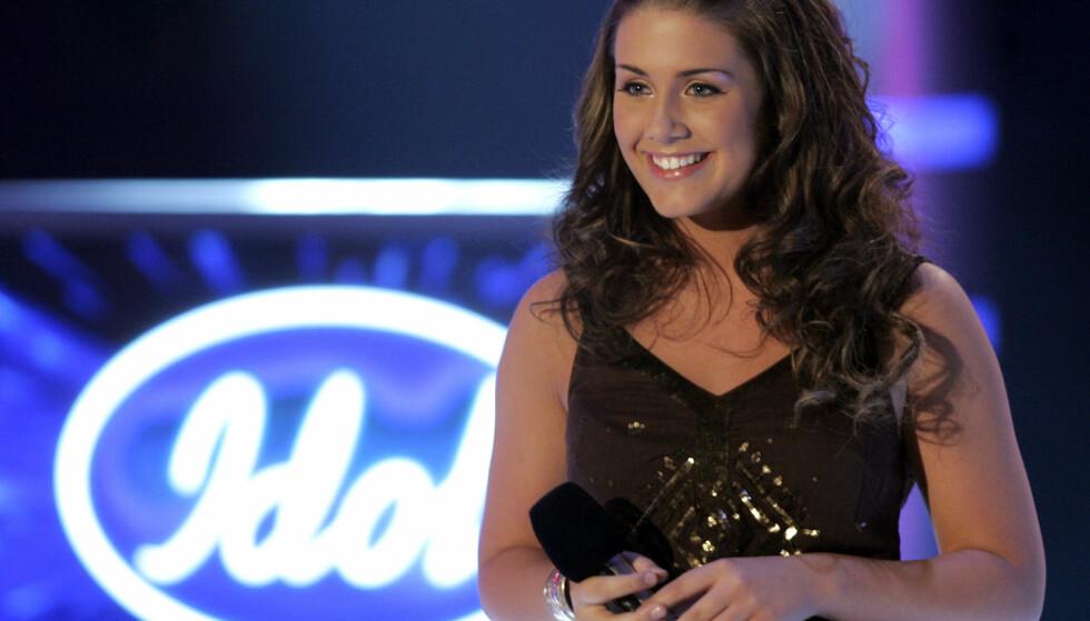 UNG OG LOVENDE: Hun ble spådd en lovende karriere allerede før »Idol»-finalen, og ekspertene hadde utvilsomt rett i sin sak. Foto: NTB scanpix