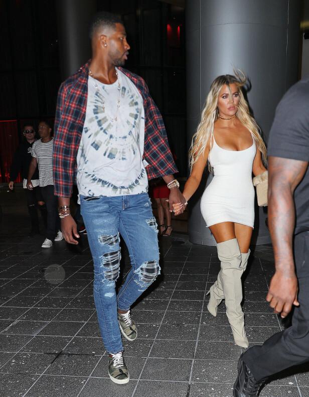 SJOKKRYKTER: Khloé Kardashians kjæreste, Tristan Thompson, er i hardt vær etter påstander om utroskap. Foto: NTB Scanpix