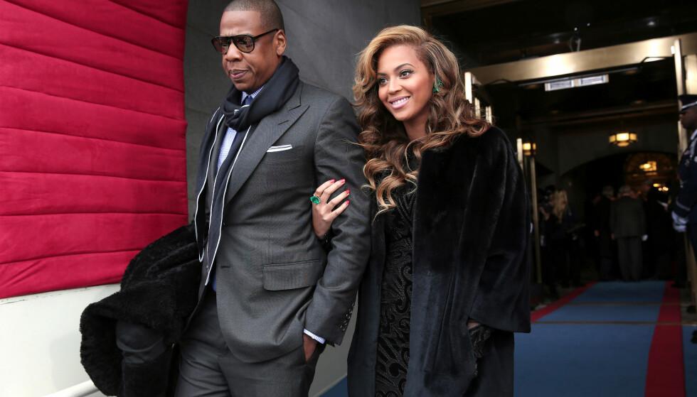 FORTSATT FORELSKET: Jay-Z og Beyoncé giftet seg i 2008 og har tre barn sammen. De holdt sammen etter at ryktene om at Jay-Z hadde vært utro ble kjent. Foto: NTB Scanpix