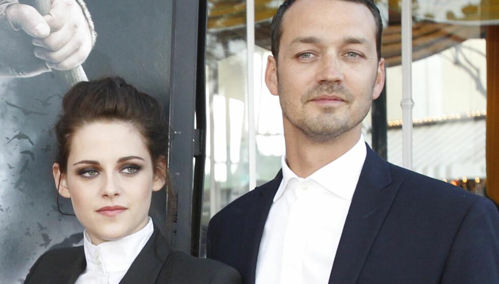 SKANDALE: Det ble mye styr rundt Kristen Stewart da det ble kjent at hun hadde hatt en flørt med regissør Rupert Sanders. Foto: NTB Scanpix