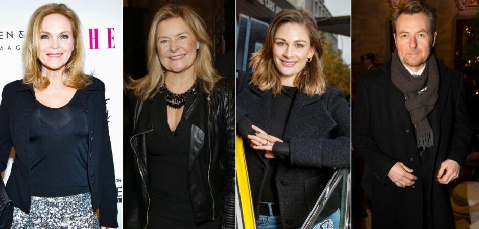 NÆRE OG KJÆRE: Det finnes flere eksempler på kjendiser som er i familie - både i Norge og i utlandet. Foto: NTB scanpix