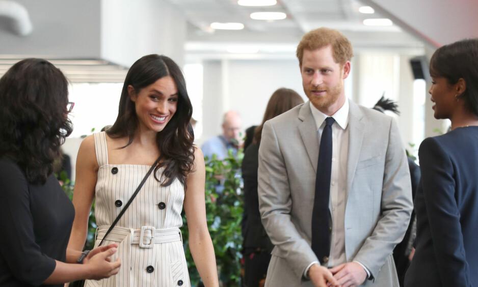 PÅ REISEFOT: Ethvert nygift par fortjener en romantisk bryllupsreise, og nå er planene angivelig lagt for prins Harry og Meghan Markles. Det kan derimot fort hende at de må endre destinasjon, av hensyn til sikkerhet og privatliv. Foto: NTB scanpix