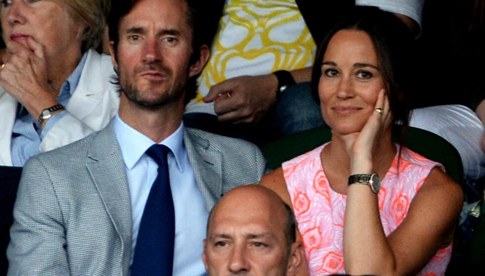 BLIR FORELDRE: James Matthews og Pippa Middleton giftet seg i mai 2017. Nå skal de angivelig vente sitt første barn. Foto: NTB Scanpix