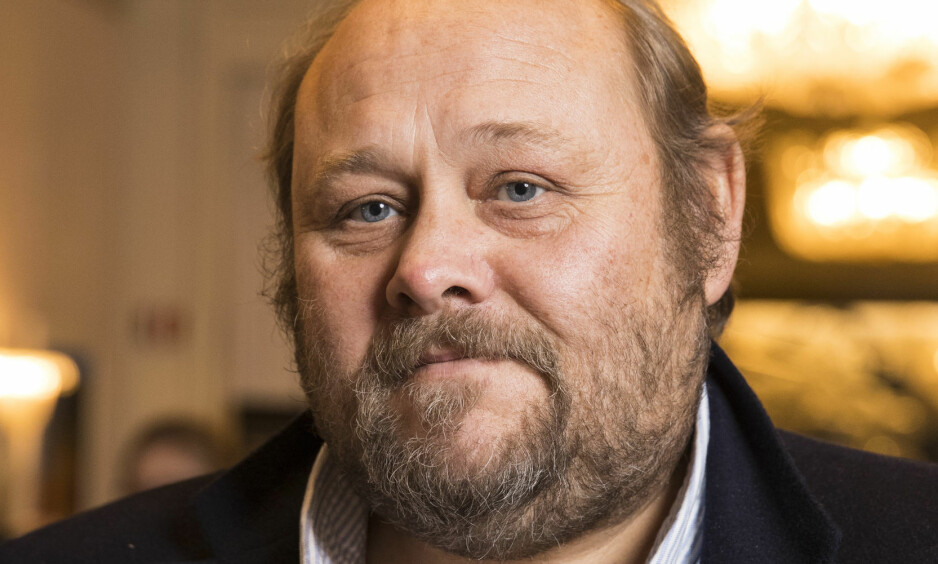 FORKLARER: Ansvarlig redaktør i Se og Hør, Ulf André Andersen, forklarer hvorfor ukebladet valgte å trykke saken om Marius Borg Høiby og hans nye kjæreste. Foto: Se og Hør