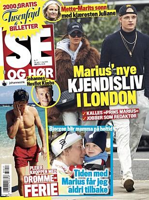 SAKEN: Ansvarlig redaktør Ulf André Andersen forklarer hvorfor Se og Hør trykker denne reportasjen.