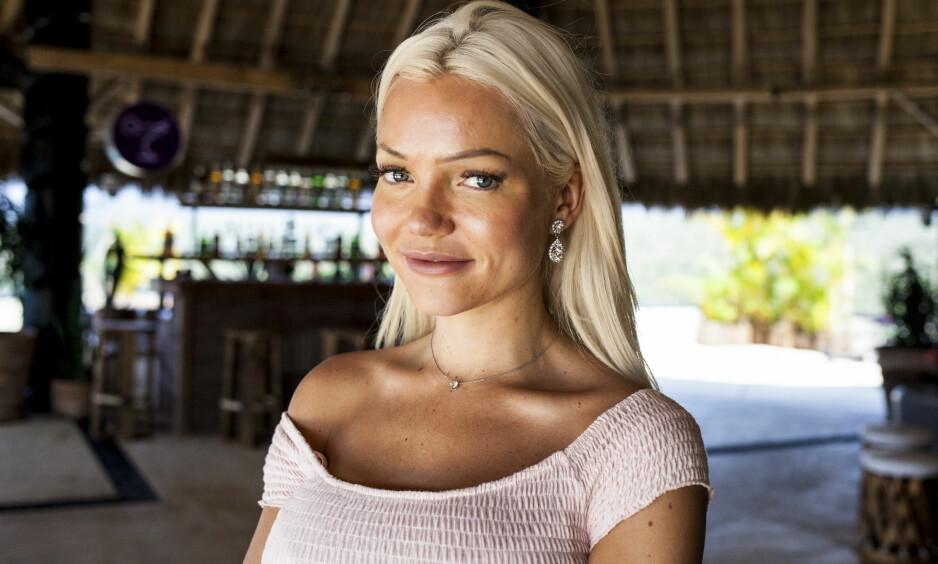 TV-AKTUELL: Den halvt polske bergensjenta Ann Marielle Lipinska gjorde nylig comeback i TV3s realityserie «Paradise Hotel», fire år etter at hun var gjest på skandalehotellet for første gang. Her avbildet da Se og Hør møtte henne i Mexico i januar. Foto: Marie Røssland