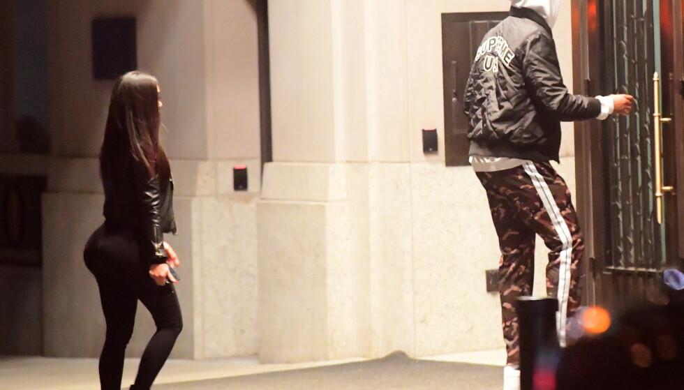 LIKER FORMER: Ifølge Us Weekly har Tristan Thompson sett seg ut formfulle kvinner på Instagram, som han deretter har kontaktet via innboksmeldinger på det sosiale mediet. Foto: Splash News/ NTB scanpix