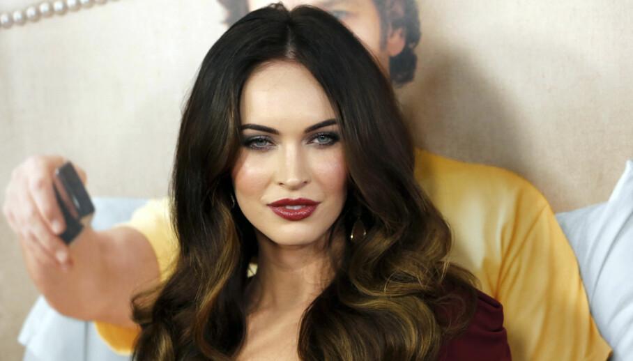 LYKKELIG: Megan Fox har funnet kjærligheten på ny etter bruddet. Foto: NTB scanpix