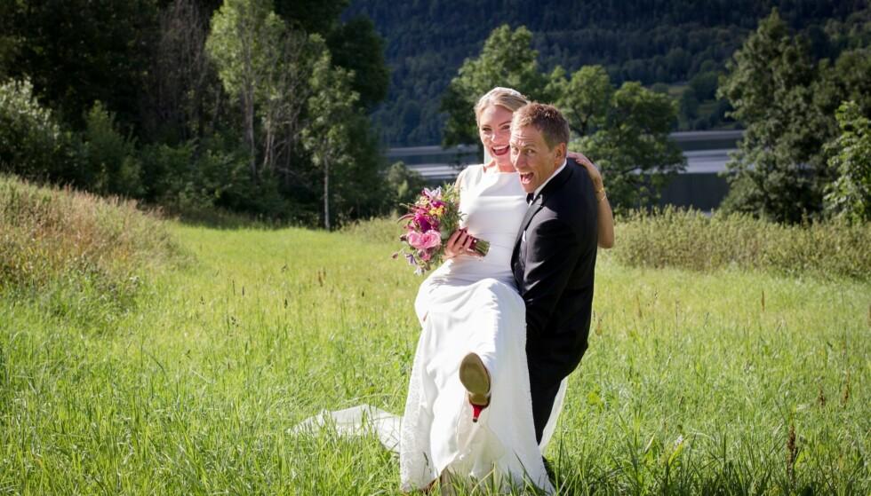 <strong>IDYLLEN BRAST:</strong> Det oppsto tidlig trøbbel i paradis for Anna Mathilda Swift (37) og Geir Kildahl (46). Foto: Christine Heim / TVNorge