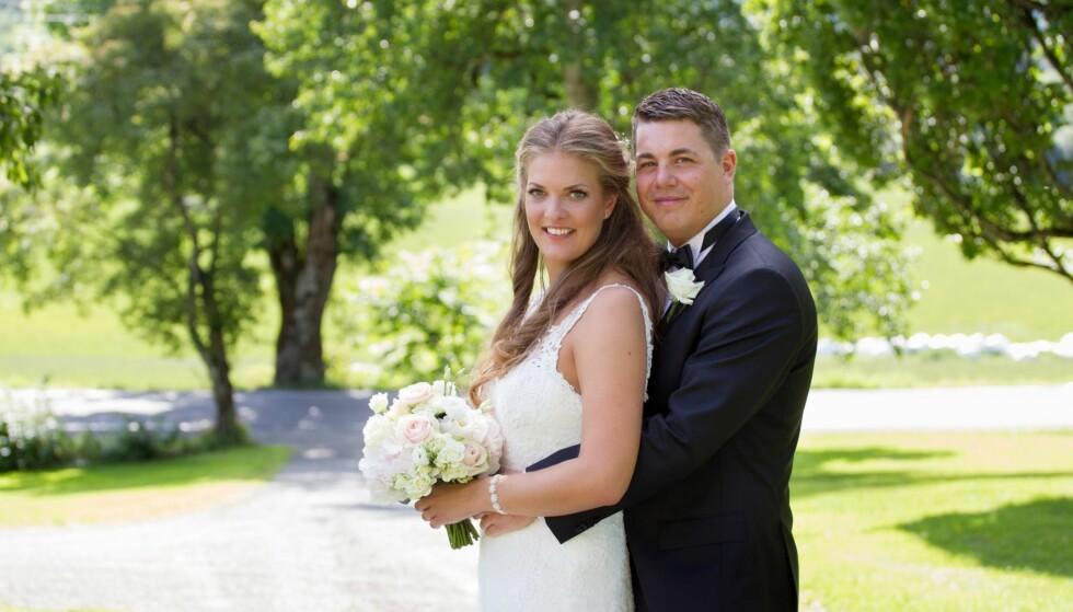 <strong>GA EKTESKAPET MANGE SJANSER:</strong> Katarina Lennart Pavlovic (30) og Rune Larsen (29) giftet seg i august i fjor. Nå er de separert. Foto: Christine Heim / TVNorge
