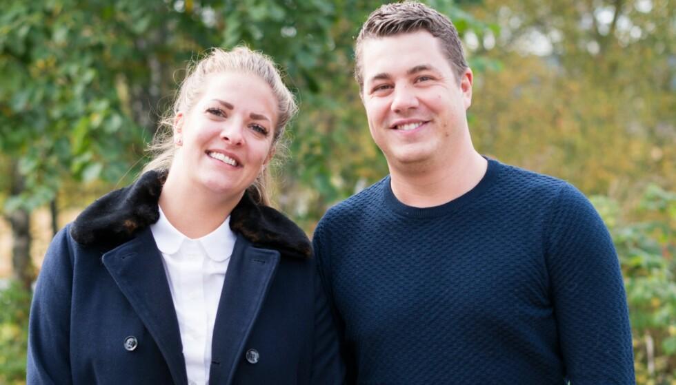 <strong>FORTSATT VENNER:</strong> Katarina og Rune har møttes de siste ukene for se tv-episodene sammen. Begge understreker at de ikke har noe uoppgjort med hverandre. Foto: Stine Mari Falstad / TVNorge