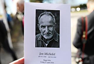 Jon Michelet bisatt: - Han var en hedersmann