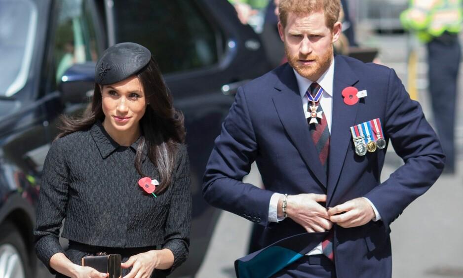 FYRER LØS: Meghan Markles halvbror advarer prins Harry mot å gifte seg med den tidligere «Suits»-skuespilleren i det som skal være et håndskrevet brev fra 51-årige Thomas Markle Jr. Foto: REX/Shutterstock/ NTB scnpix