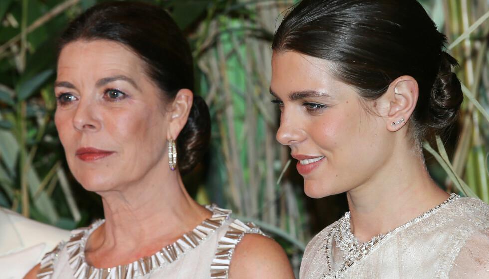 BABYLYKKE: Prinsesse Caroline blir bestemor for femte gang i august når datteren Charlotte blir mamma for andre gang. Foto: Splash News