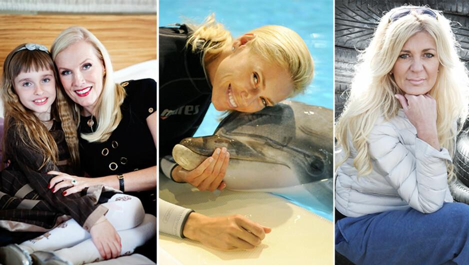STORE PROFILER: Gunilla Persson, Anna Anka og Maria Montazami er kanskje de tre profilene som har gjort seg mest bemerket gjennom realityserien «Svenske Hollywoodfruer». Slik var deres reise fra Sverige til USA. Foto: NTB Scanpix