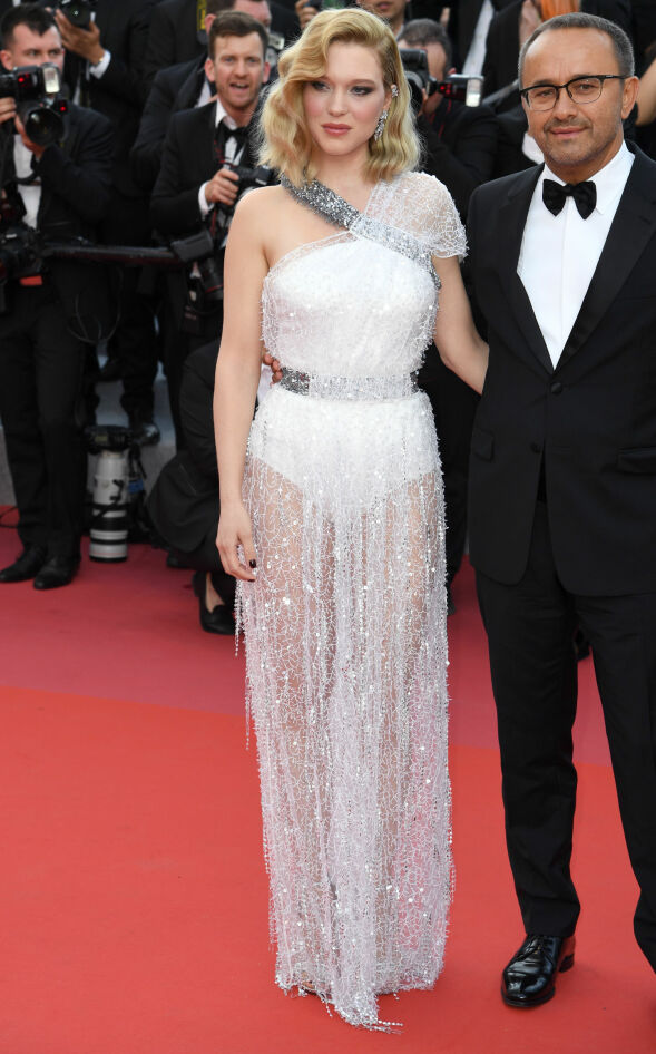 GLITRET: Skuespiller Lea Seydoux på «Everybody Knows»-premieren i Cannes. Foto: Doug Peters/EMPICS/ NTB scanpix