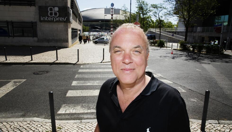 DRAMA: Thomas G:son har skrevet 88 sanger som har vært med i Eurovision. - Det bør være litt drama i låtene, sier svensken om «hemmeligheten» bak det å skrive en god Eurovision-låt. Foto: Henning Lillegård / Dagbladet