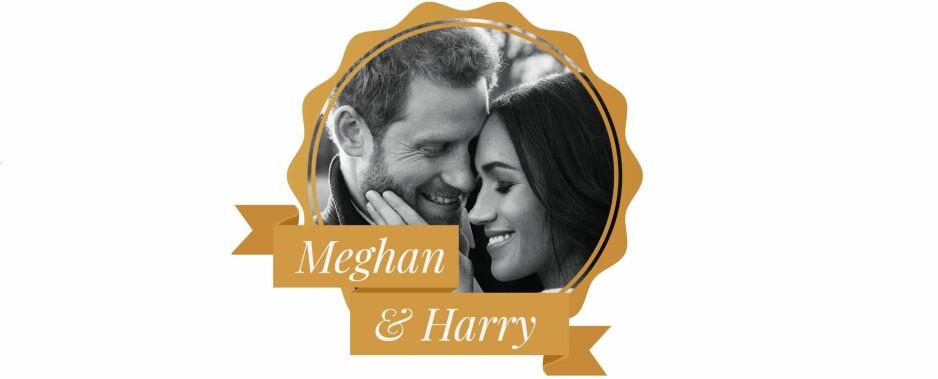 meghan Markle og prins harrys bryllup
