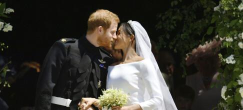 Nå er de endelig gift