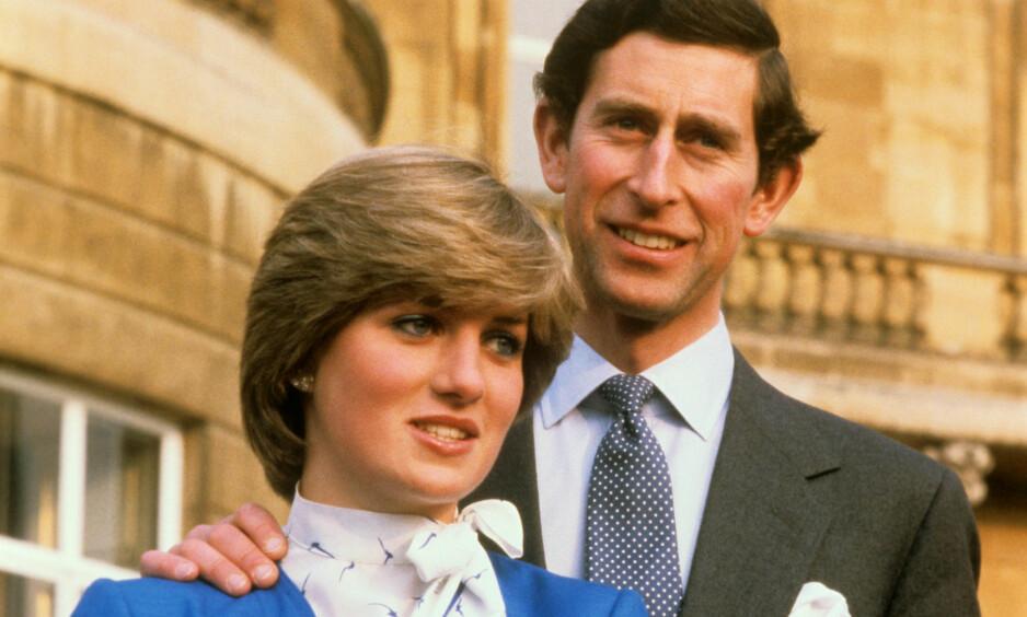 DEN GANG DA: Det var i 1996 skilsmissen mellom prins Charles og prinsesse Diana ble et faktum. Her avbildet i 1981. Foto: NTB scanpix