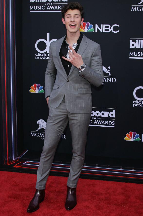 <strong>NOMINERT:</strong> Shawn Mendes var nominert til pris, men gikk dessverre tomhendt hjem. Foto: NTB Scanpix