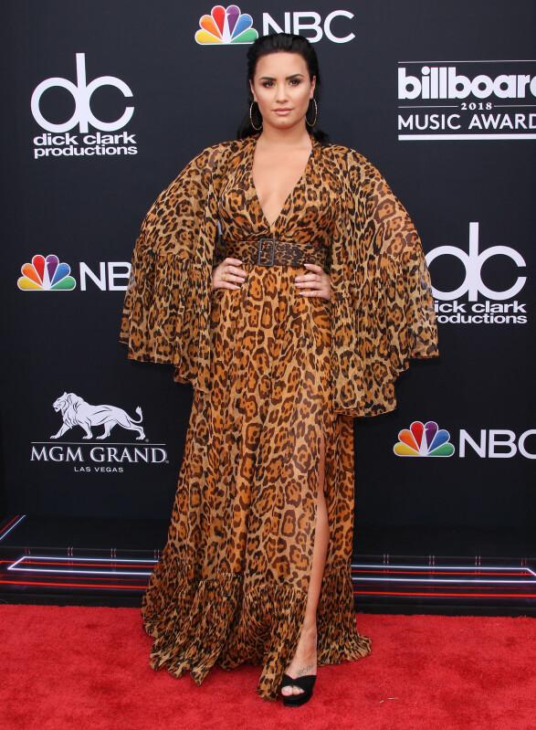 <strong>NOMINERT:</strong> Demi Lovato var nominert for hele tre priser, men gikk dessverre tomhendt hjem. Foto: NTB Scanpix