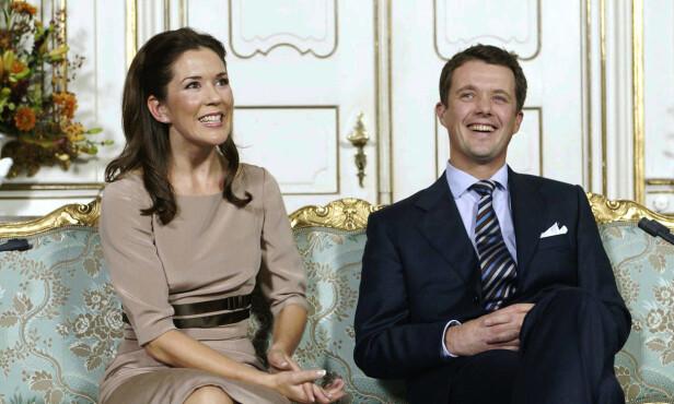 VANSKELIG: Kronprinsesse Mary har heller ikke hatt noen enkel overgang. Da forlovelsen til kronprins Frederik ble kjent, synes hun det var vanskelig å omstille seg. Foto: NTB scanpix