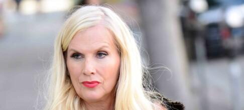 Gunilla Persson pågrepet av politiet. Mistenkes for grovt tyveri