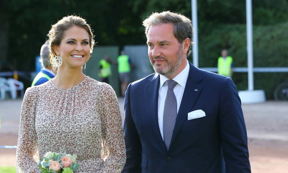 FLYTTER: Prinsesse Madeleine og Chris O'Neill flytter fra luksusleiligheten etter familieforøkelsen. Foto: NTB scanpix