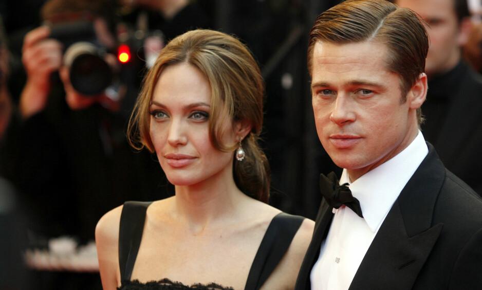BLE ANGIVELIG PRESSET: Angelina Jolie skal ha hatt alt annet enn lyst til å gifte seg med Brad Pitt i 2014, ifølge Us Magazine sine kilder. Foto: NTB Scanpix
